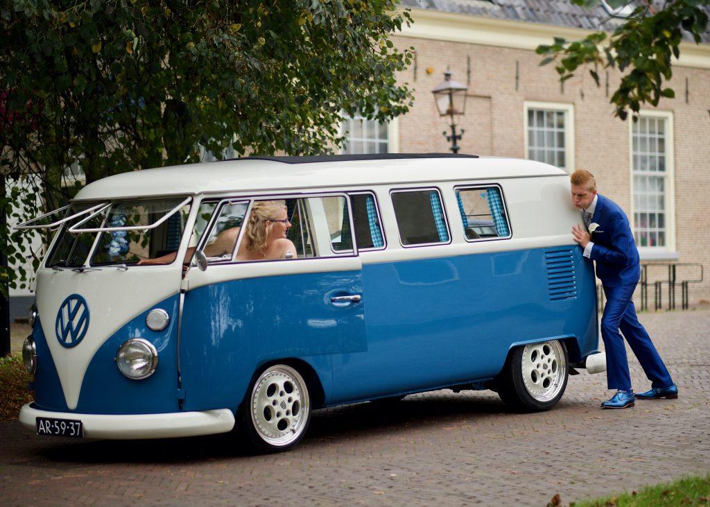 Pech met Volkswagen T1 - Bruiloft Polet-Woensdregt Assen © 2016 Matthijs Jonker Fotografie
