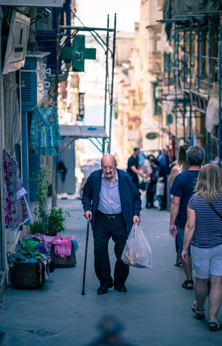 Oude man - Malta © 2018 Matthijs Jonker Fotografie