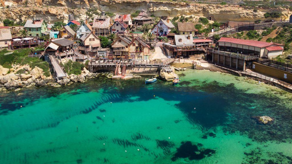 Popeye Village - the TURQOUISE series - Malta © 2018 Matthijs Jonker Fotografie