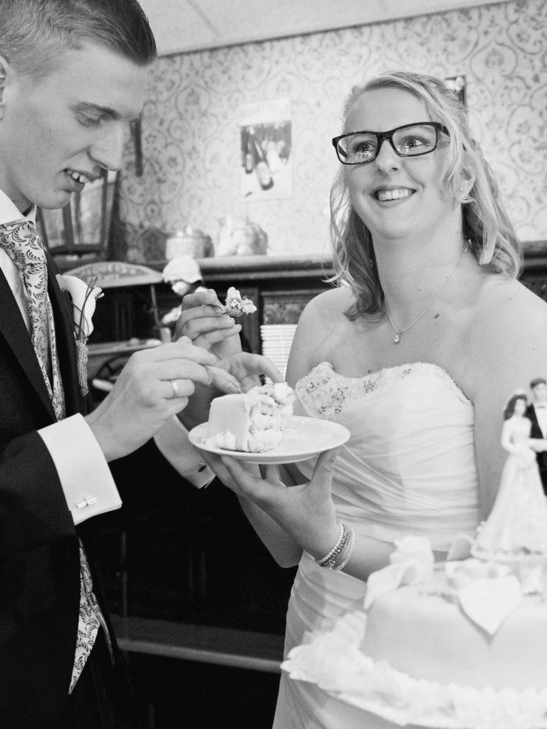 Bruidstaart - Bruiloft Polet-Woensdregt Assen © 2016 Matthijs Jonker Fotografie