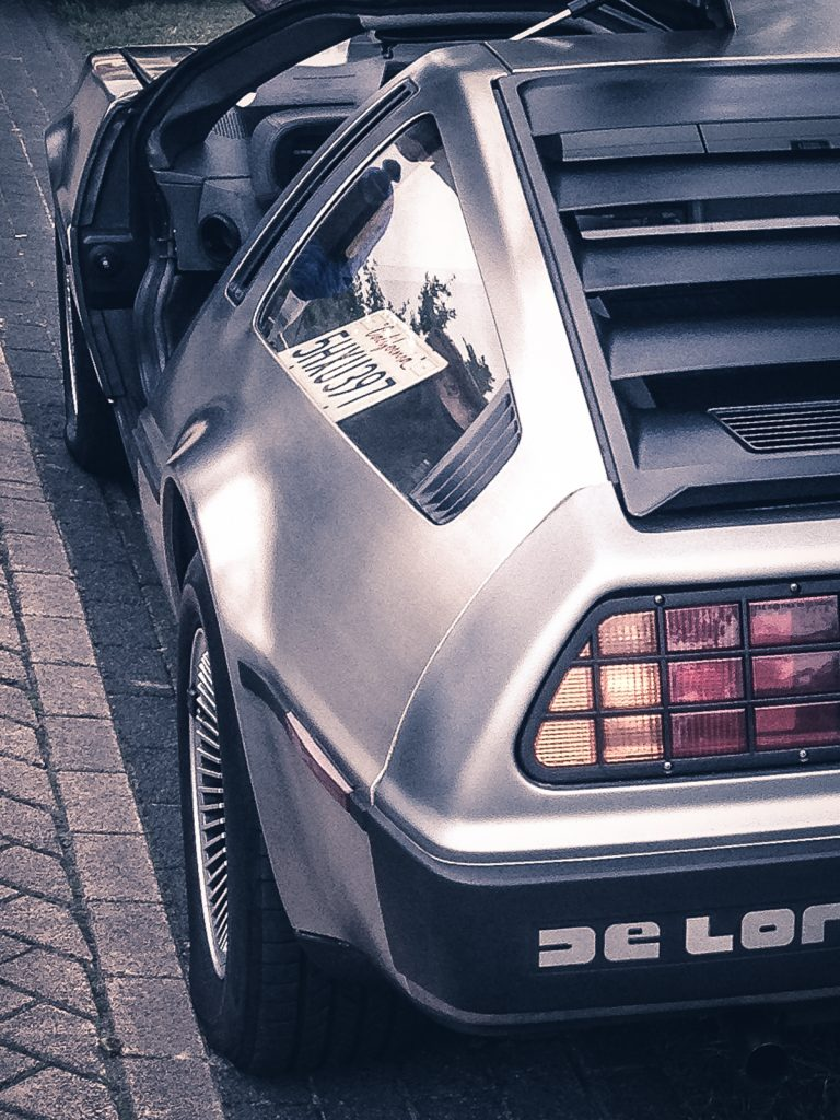 DeLorean - Back to the future © 2015 Matthijs Jonker Fotografie