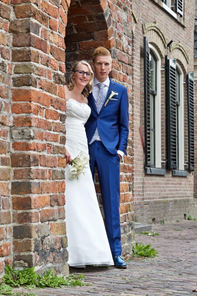 Oudste muur van Assen - Bruiloft Polet-Woensdregt Drents Museum Assen © 2016 Matthijs Jonker Fotografie