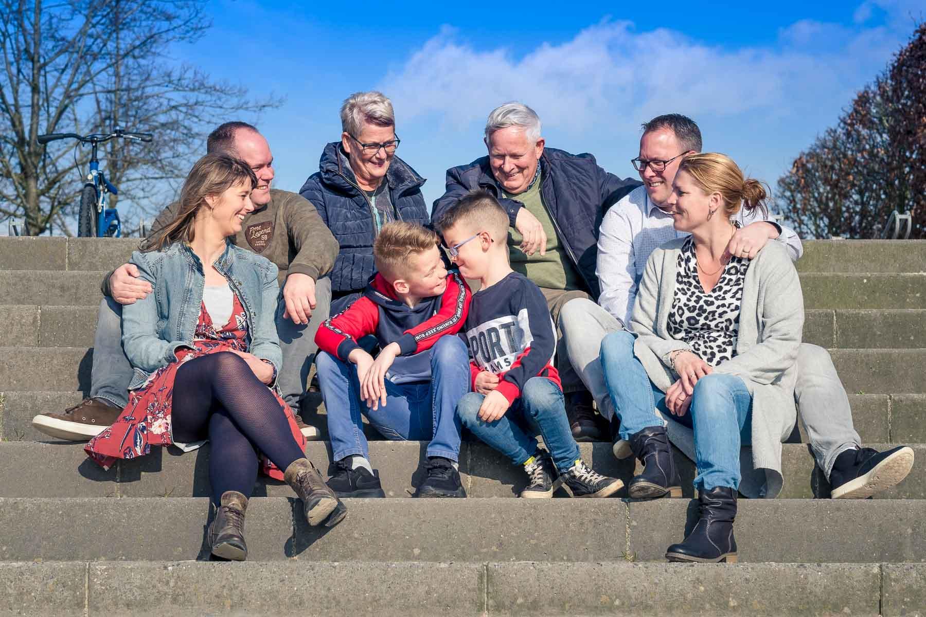 familiereportage op resort Hof van Saksen